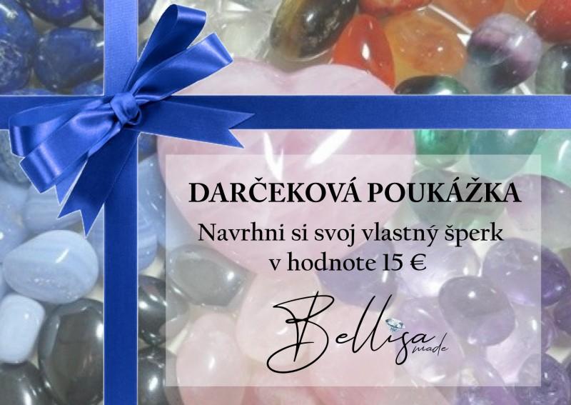 Darčeková poukážka 15 eur