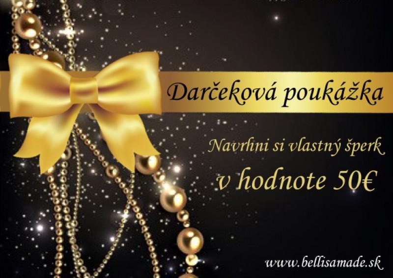 Vianočná poukážka 50 eur