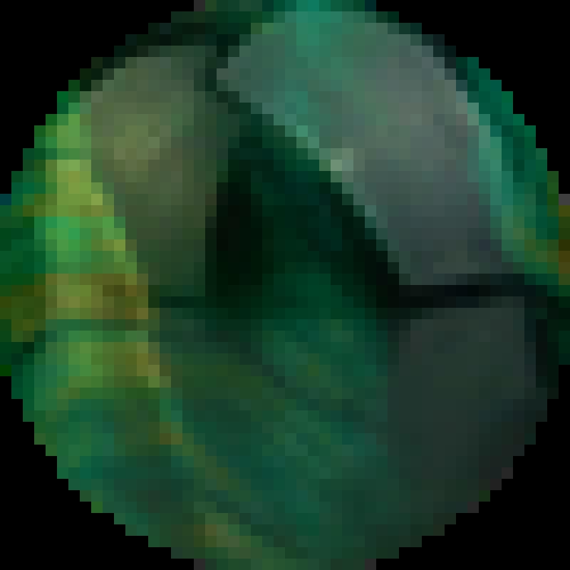 Tigrie oko smaragd
